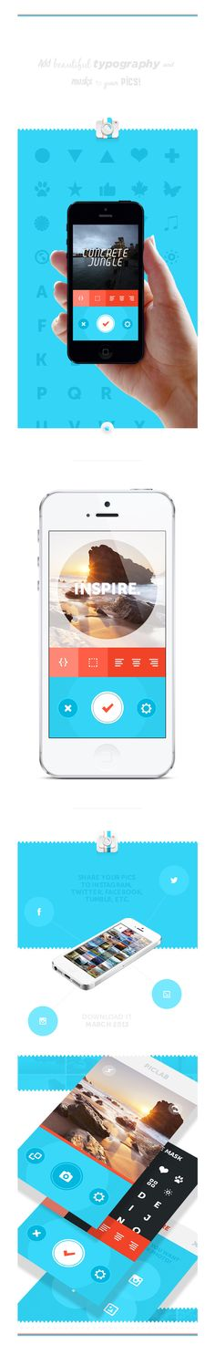 PicLab - Fun photo editing! / Roberto Nickson #webdesign #design #designer #inspiration #web