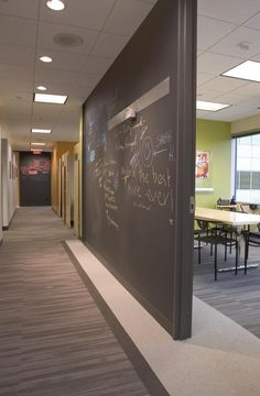blackboards for meeting rooms (because whiteboards are so 1990s)