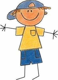 Risultato Immagine Per Stick Figure People Clip Art Doodle Art, Doodle Drawings, Cartoon Drawings, Easy Drawings, Drawing For Kids, Art For Kids, Drawing Art, Doodle People, Stick Figure Drawing