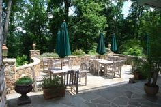 Can't wait for warmer weather to open the patio at @Kristine Brennen Inn & Restaurant! In the meanwhile, take advantage of their Wine Wednesdays and Date Night Thursdays specials. #Loudoun #Middleburg