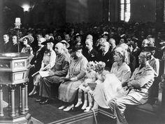 Doopplechtigheid van prinses Margriet in Canada, 1943
