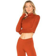 IVY PARK Open Back Crop Top ($41) ❤ liked on Polyvore featuring tops, activewear, crop tops, open-back tops, red top, cutout tops and ivy park top