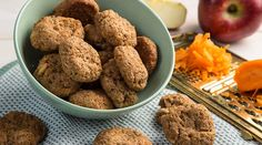 Μαλακά μπισκότα ολικής με μήλο και καρότο | alevri.com