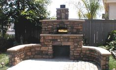 add round pizza oven mound, wider benches, wood stock pile, sealed cupboards