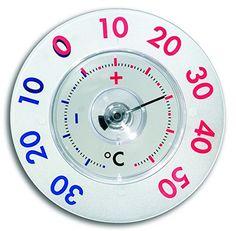 TFA TERMOMETRO TWATCHER XI Termometro da finestra in plastica per misurare la temperatura esterna