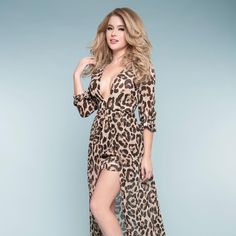 """Pinup Girl Clothing on Instagram: """"Babe alert! Shop our """"New Items"""" section for hot new styles, link in bio.  <3 Micheline #pinupgirlclothing #leopard #leopardprint #romper #bighairdontcare #plunge #deepv #cuteaf #reneeolstead #babe #babecity #pinupgirl #pinupgirlstyle #modernpinup"""""""