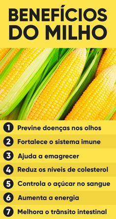Corn controls blood sugar, lowers cholesterol and improves vision - Weight loss tips Health Benefits, Health Tips, Health And Wellness, Dieta Flexible, Fitness Diet, Health Fitness, Healthy Life, Healthy Eating, Bebidas Detox