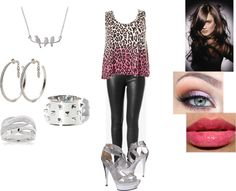 """""""Silver Bliss"""" by olivia-gough ❤ liked on Polyvore"""