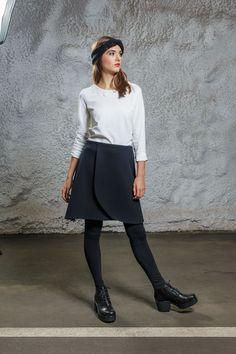 Diba se Diva - Swing Skirt black