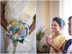 brooch bouquet | Sarah Falugo Photography | CHECK OUT MORE IDEAS AT WEDDINGPINS.NET | #weddings #uniqueweddingideas #unique