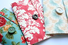 The Creative Place: Tuesday Tutorial: Fabric Covered Matchbook Mini Album
