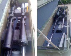 Stinger missile case hacked for long gun case