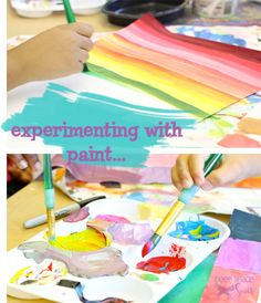 Experimenting with Color - mixing-colors-with-kids
