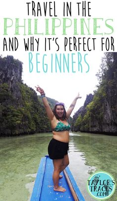 It really is more fun in the Philippines and makes for a super easy transition to traveling in Asia for beginners. Spain Travel, Asia Travel, Mexico Travel, Cool Places To Visit, Places To Travel, Travel Destinations, Philippines Travel Guide, Philippines Palawan, Phillipines Travel