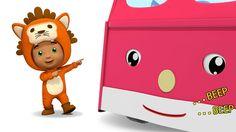 The wheels on the bus | Kids 3d Rhymes | New Youtube Rhymes | Nursery Rh...