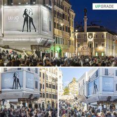 Liu-Jo Amazing Fit Roma - Piazza di Spagna  - Scalinata Trinità dei Monti #liujodonna #liujo #abbigliamento #moda #italia #roma #amazingfit #adv #advertising #media www.upgrademedia.it