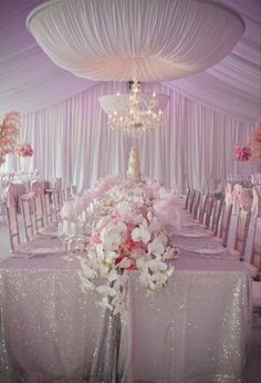 Wedding Reception Pink Decorations Themes Dresses Flowers