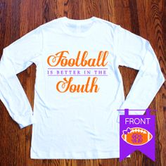 We are proud to introduce Freckle Fox Boutique's apparel collection. Perfect for personal daily wear, vacations, game day, tailgates, etc.! These shirts are marvelous for yourself or even to give as a gift!  Each shirt is designed on a super soft 100% combed cotton CANVAS contoured long sleeve ...