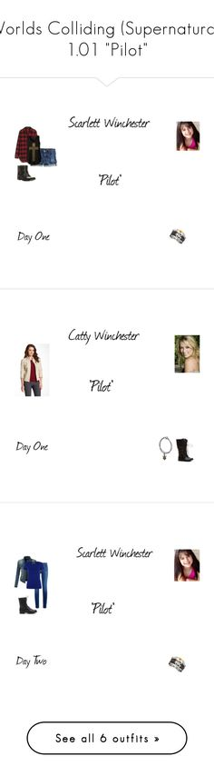 """""""Worlds Colliding (Supernatural) 1.01 """"Pilot"""""""" by katherine97-1 ❤ liked on Polyvore featuring J.Crew, Madewell, Frye, Peace of Cloth, Paige Denim, LE3NO, HUGO, rag & bone, Lee and Hanro"""