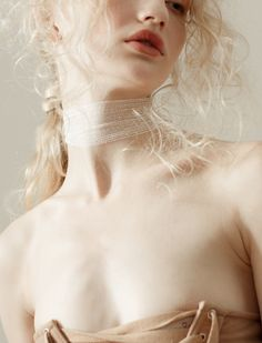 """Fading"". Pauline Ivashevskaya by Marco Giuliano for Nasty Magazine"