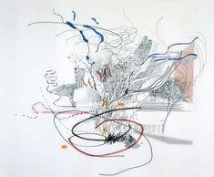 Untitled - Julie Mehretu