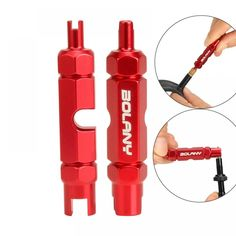 Bicycle Tire Valve Inner Core Removal Tool, free shipping option to most countries worldwide. For best shopping experience visit us, trainedtools.com