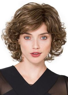 Sexy Women's Side Part Short Bob Curly Hairstyles Human Hair Lace Front Cap Wigs Short Curly Hairstyles For Women, Curly Bob Hairstyles, Braided Hairstyles, Curly Hair Styles, Natural Hair Styles, Human Braiding Hair, Human Hair Wigs, Monofilament Wigs, 100 Human Hair Extensions
