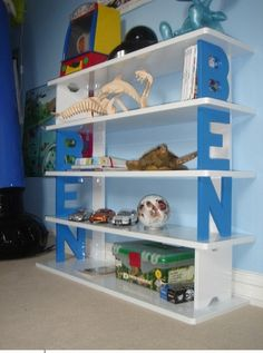 letter-personalised-childrens-bookcase