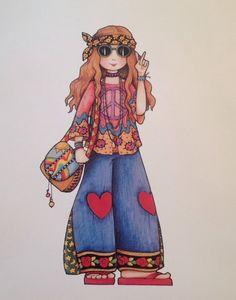 hippie - mary engelbreit
