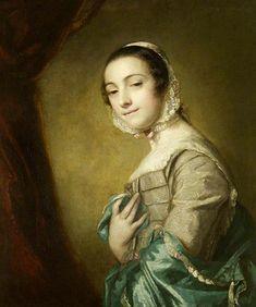 Молодая женщина, ок  1753 (Сэр Джошуа Рейнольдс) (1723-1792) Montacute Дом, Сомерсет, Великобритания