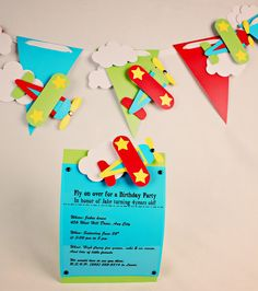 adorable airplane banner for aviation themed party.free cutting file if you have a fancy cutter Airplane Banner, Airplane Party, Cloud Template, Boy Birthday, Birthday Parties, Planes Party, Silhouette Cameo Projects, Baby Shower, Party Themes