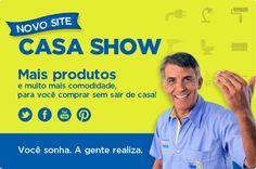 O ano novo chegou cheio de novidades para os clientes e para a família Casa Show.  Dessa vez, o destaque é o lançamento do site Casa Show, em formato de loja virtual. O novo canal de vendas oferece grandes marcas e os melhores produtos para consumidores de todo Brasil.    http://blog.casashow.com.br/novidades/a-casa-show-esta-de-site-novo-conheca-nossa-loja-online-e-compre-sem-sair-de-casa/