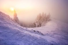 Sunrise at -21C on Rarau Mountain Photo by Toma Bonciu — National Geographic Your Shot