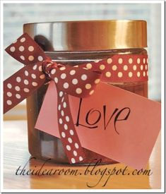 Do you love using those expensive body scrubs but hate paying a small fortune for them? Here is a recipe that will give you the same results for a LOT less. You can make them for yourself or give some away as gifts.    Brown Sugar Scrub:   1 cup brown sugar  1/3 cup extra virgin olive oil   2 tablespoons honey