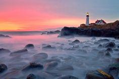 """Portland Head Lighthouse"" by Michael Rickard"