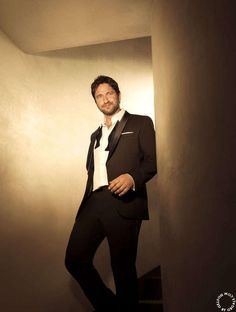 Gerard Butler for @HugoBoss