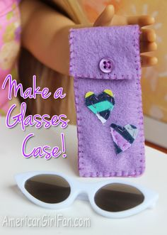 Doll Craft: How To Make a Glasses Case!