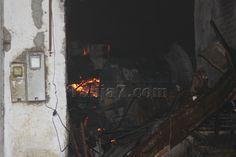 صور من حريق كسابراطا #طنجة Tanja7.com