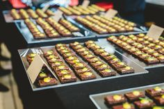 Wine & Dine'm Catering is Brisbane's premiere catering service with over 20 years of experience catering corporate events, private events and weddings. Rye Toast, Catering Companies, Lemon Balm, Canapes, Scallops, Food Menu, Oysters, Lamb, The Cure