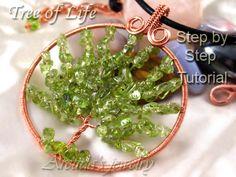 Tree of Life pendant tutorial by Arctida.deviantart.com on @deviantART