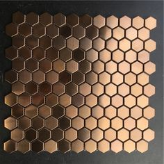 #tile fireplace wall 23mm Hexagon Brush Rose Gold Metal Stainless Steel Mosaic Tiles, Creative Store Waistline fireplace wall floor tile - aliexpress.com Mosaic Bathroom, Mosaic Wall, Mosaic Tiles, Paint Fireplace, Fireplace Remodel, Decoration Chic, Kitchen Wall Tiles, Cheap Wall Stickers, Tile Floor