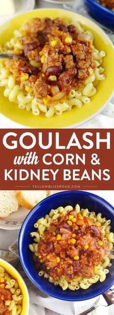 Easy Goulash with Co
