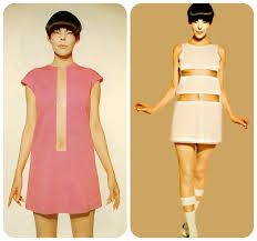 Image result for sixties 60's golden dress