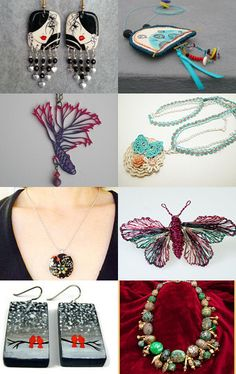 Jewelry art by Stefanie on Etsy--Pinned with TreasuryPin.com