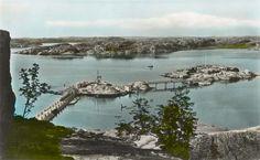 Badholmarna, old postcard