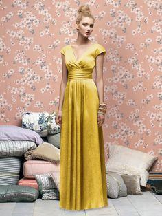 like but yellow not mustard  Yellow bridesmaid dress