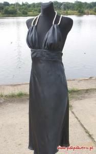 Gotowy wykrój - sukienka ze sznurem
