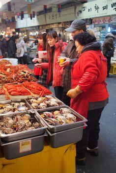 Gwangjang Market - Street food