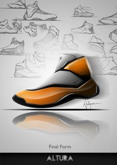 Nike Altura - Concept (Personal Sketch) by Ardhyaska Amy, via Behance