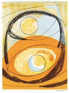 [Moon and Sun] By Barbara Hepworth